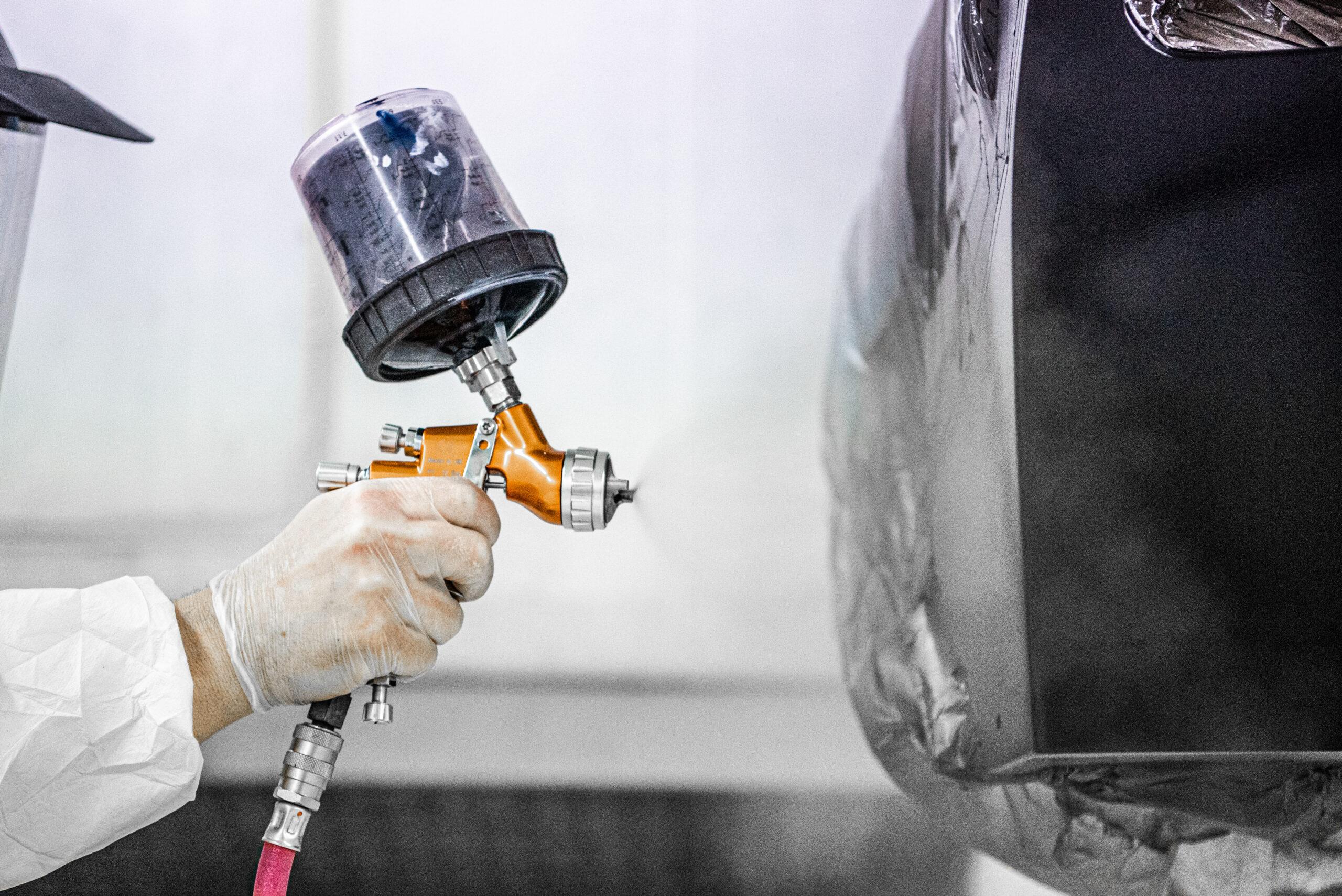 EB Motorsport Paint Process