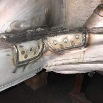 Porsche 911 Crossmember Reinforcing Plate