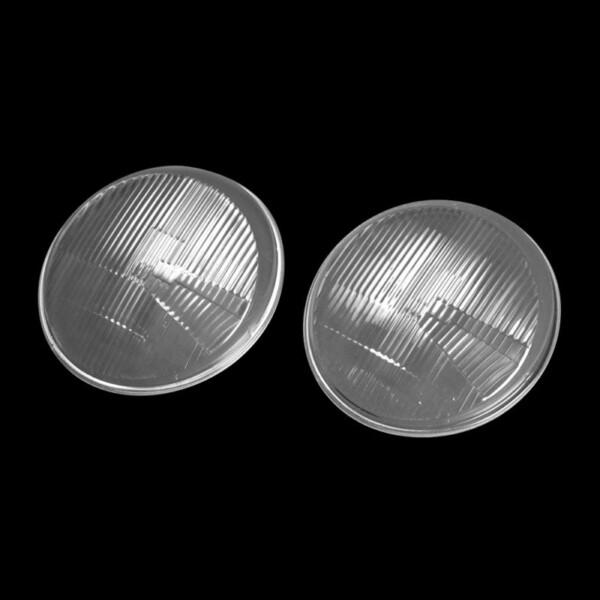 Porsche 911 Headlamp Lenses - Clear