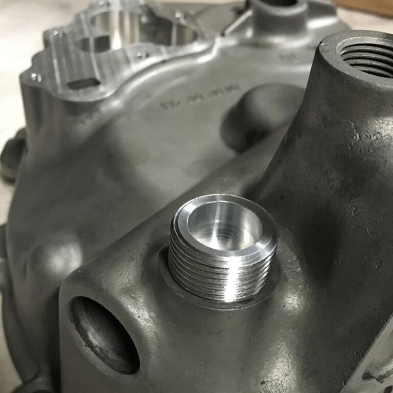 Porsche 911 Engine Machining